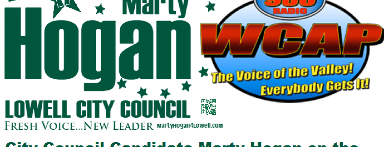 Candidate Marty Hogan on 980-WCAP